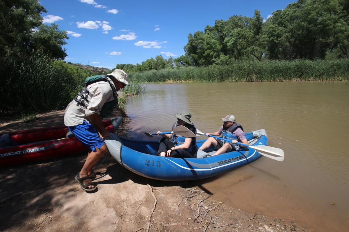 Putting in verde river water to wine tour