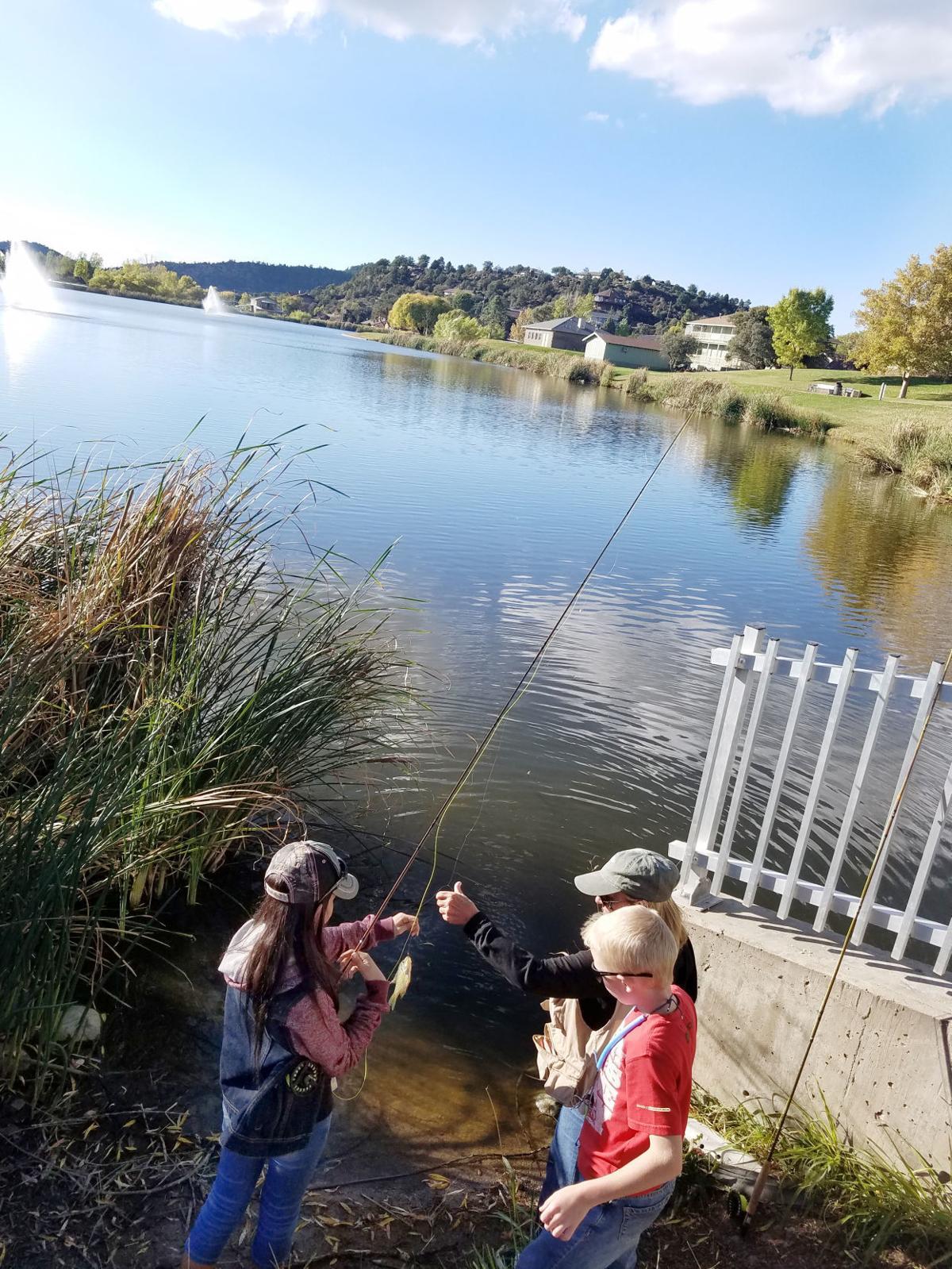 Fishing Green Valley Lake