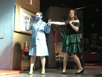 Clue dress rehearsal