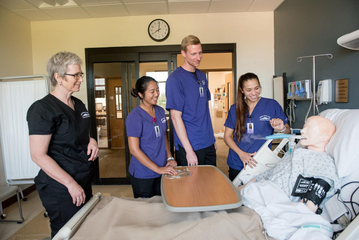 EAC nursing students learn patient care