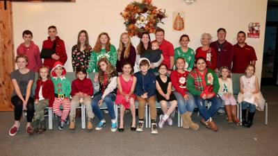 Christmas play at Mountain Bible