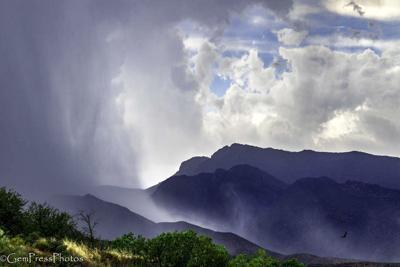 Monsoon over the Matazel Mts