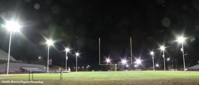 Football lights by keith
