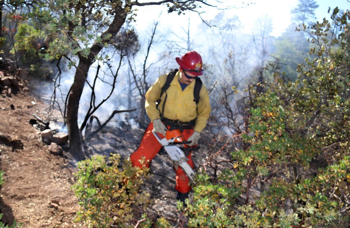 Wildfire walmart guys on site