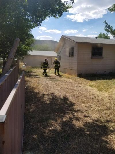 pine house fire