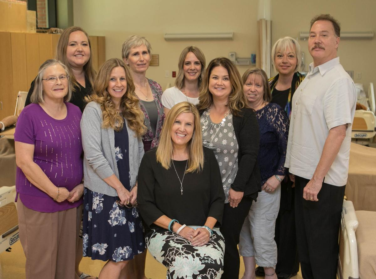 EAC Nursing program faculty