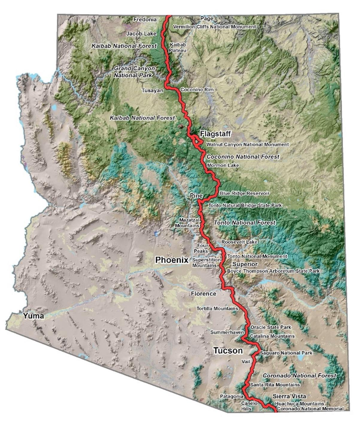 Weigh in on the future of the Arizona Trail | Local News ...