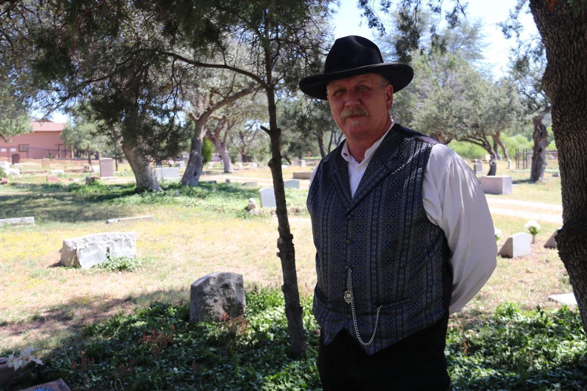 Payson Pioneer Cemetery tour David Grasse headshot