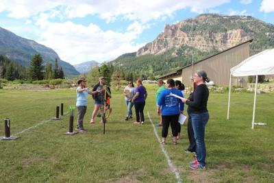 Image of NASP training archers