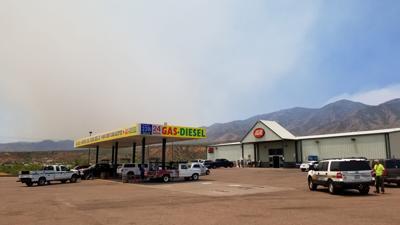 Tonto Basin IGA evacuation Bush Fire
