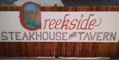 Creekside sign