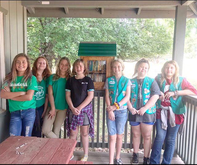 girl scout little library