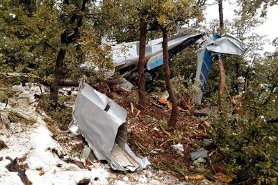 Plane crash claims four