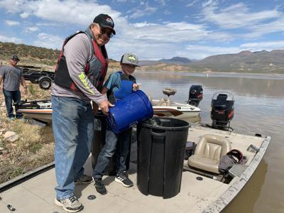 Roosevelt Lake Crappie Stocking 2019 By Curt Gill