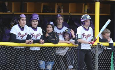 Softball Tiny Purple Hats