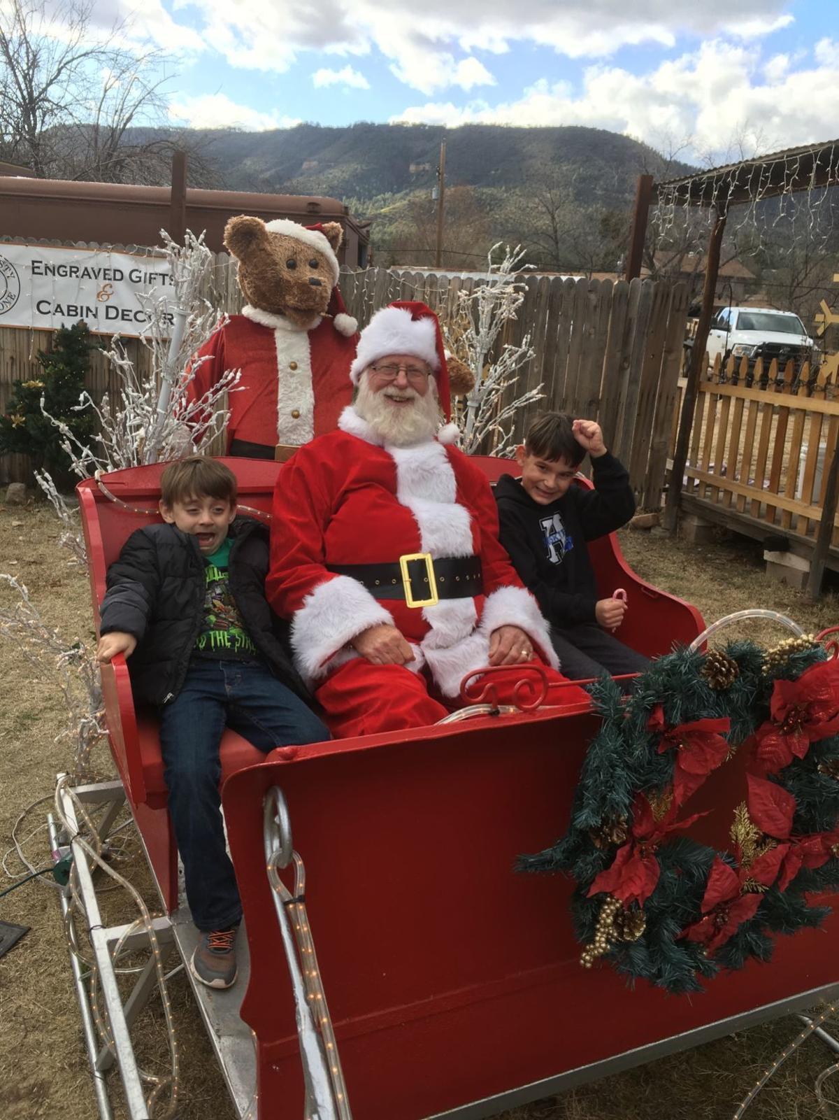 Santa in Pine