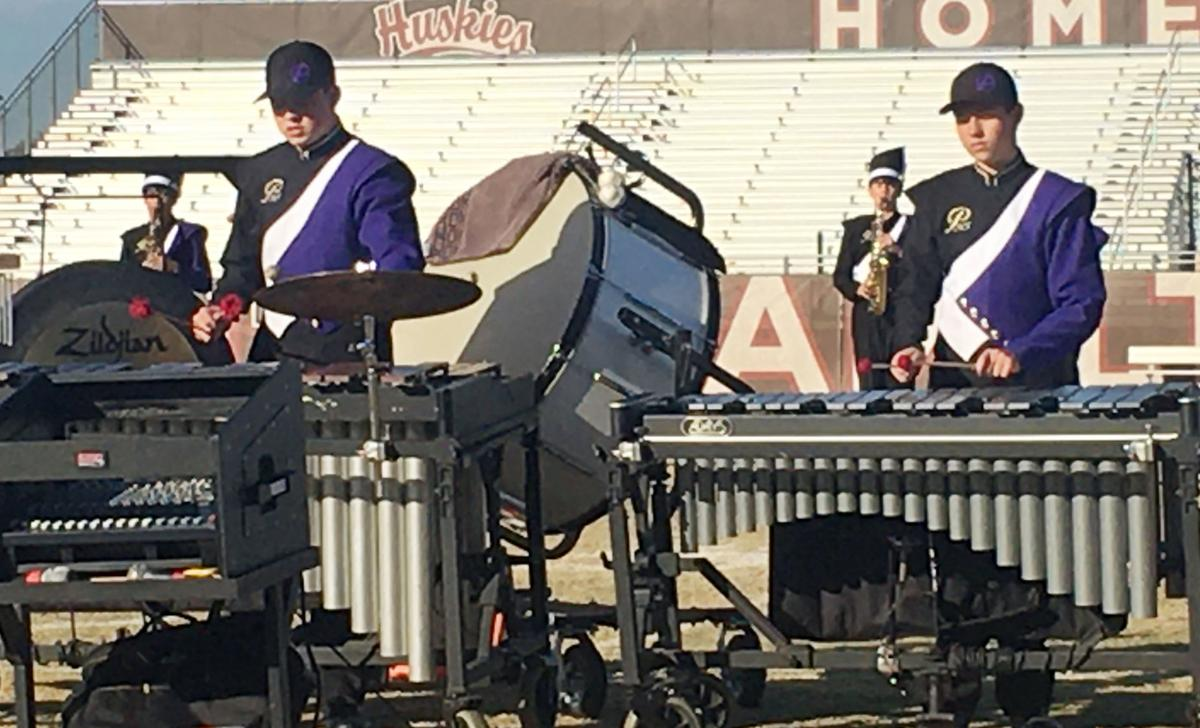 2019 PHS Pride of Payson marching band semi finals