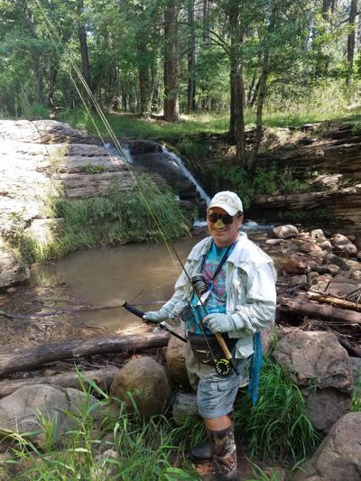 Jim Strogen on Tonto Creek