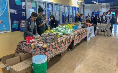 Nearly half of college students in the U.S. experience food insecurity