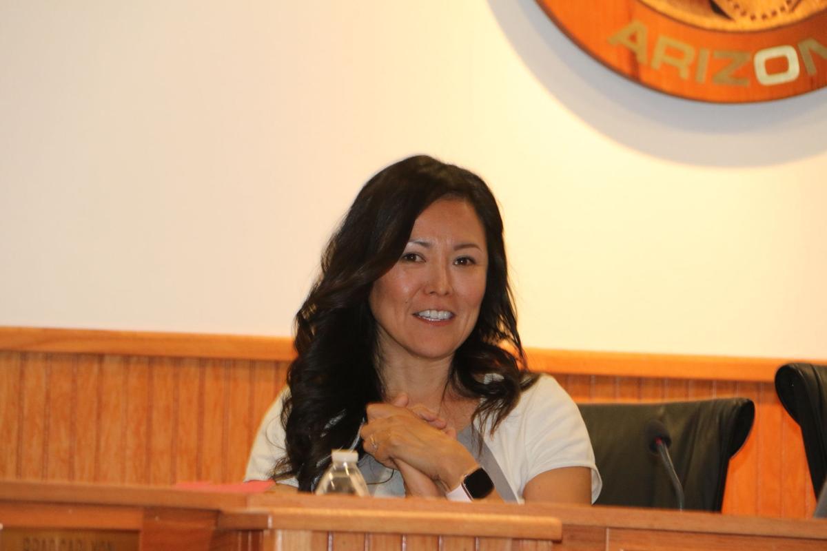 Navajo County Supervisor Dawnafe Whitesinger