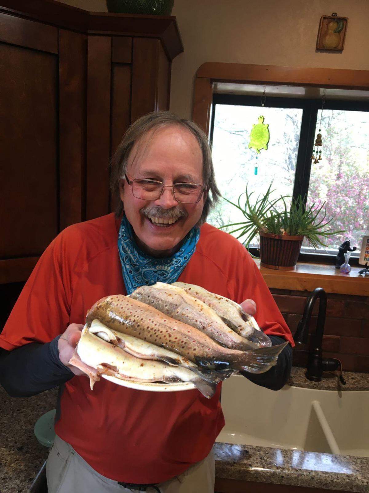 Joe Schmidt With Fish