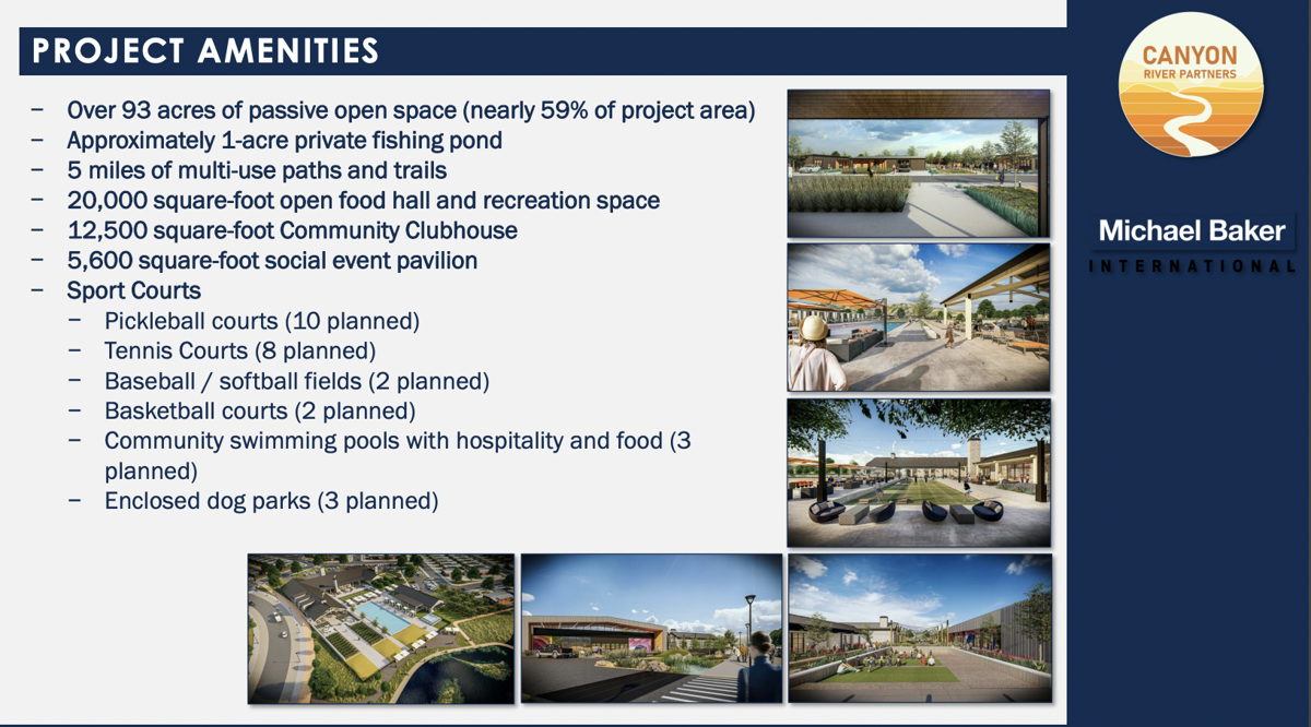 Canyon River Ranch project amenities
