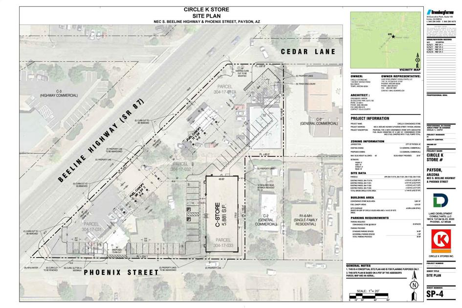 Circle k south expansion planned business paysonroundup publicscrutiny Gallery