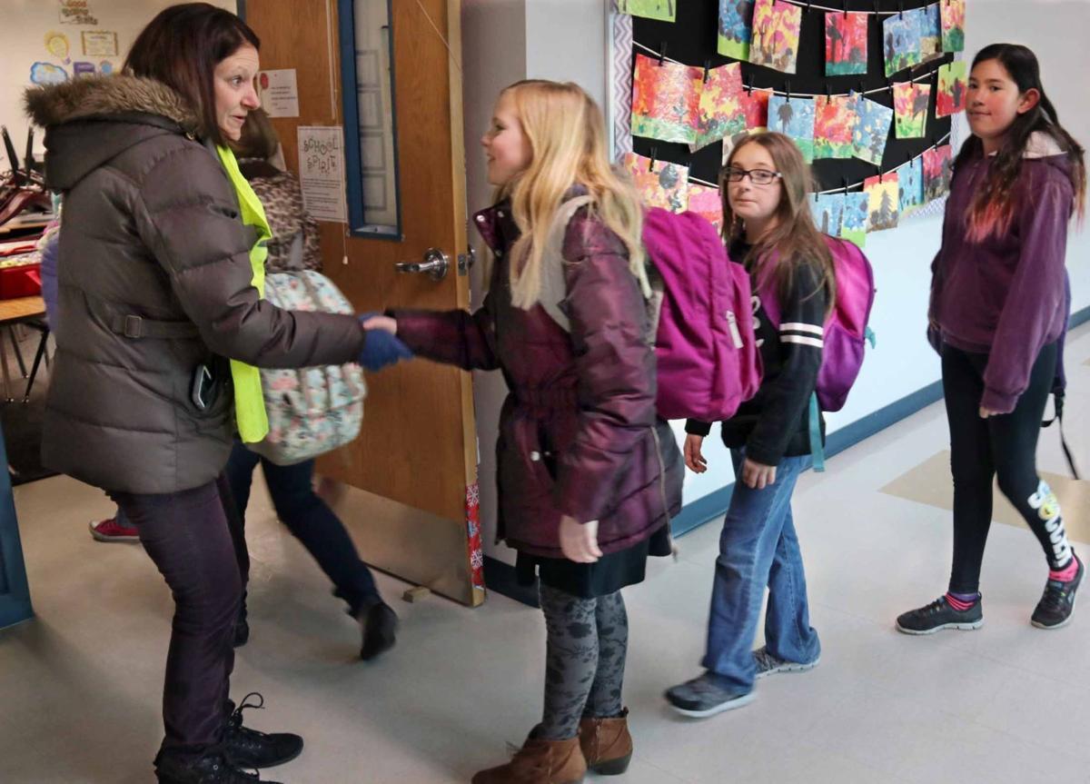 Capture Kids' Heart handshake