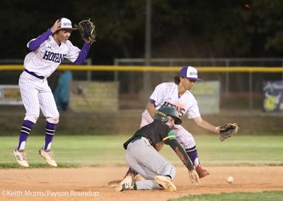 Baseball Vs Show Low Cougar Safe At 2B Low Rez