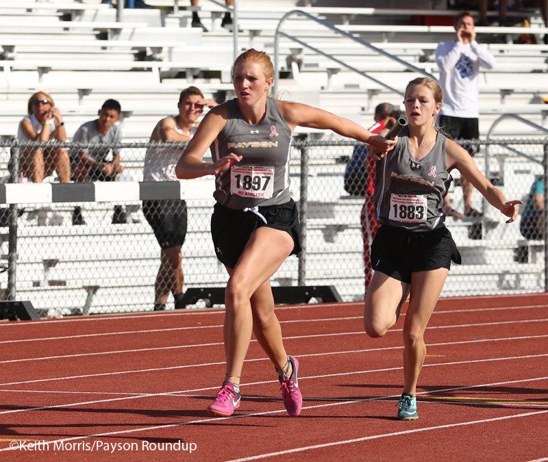 Track girls 4x100 Brade to White Low Rez