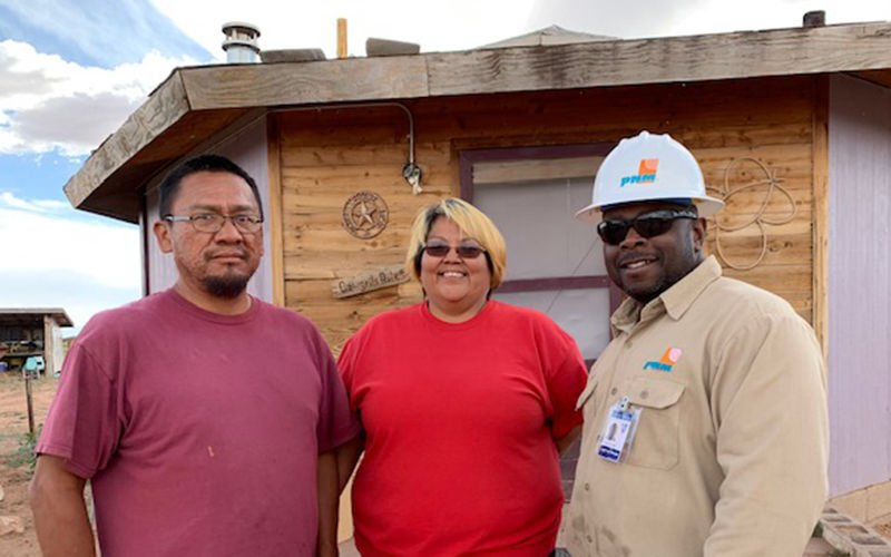 Power to the people: Utilities from around the U.S. pitch in to bring electricity to Navajos