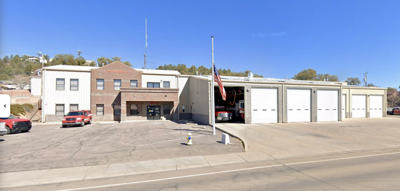 View of the Payson Main Street Fire Station
