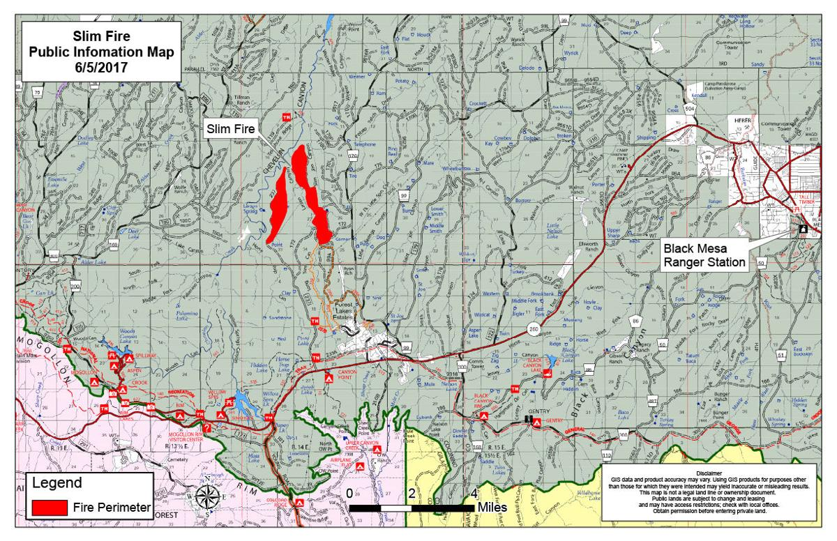 Update on the Slim Fire Apache-Sitgreaves National Forest ...