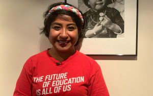 Lizeth Herrera, teaches at Isaac E. Imes School in Glendale