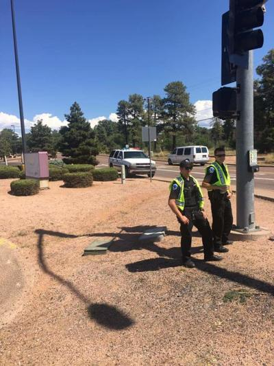 Payson PD monitors Hwy 260/87 intersection over Labor Day weekend