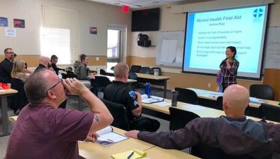 Mental health first aid class at PPD
