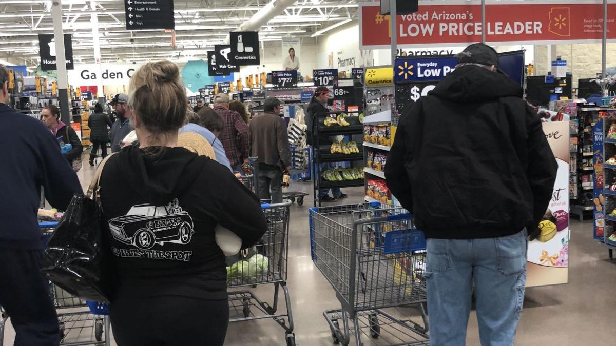 Residents ready for storm