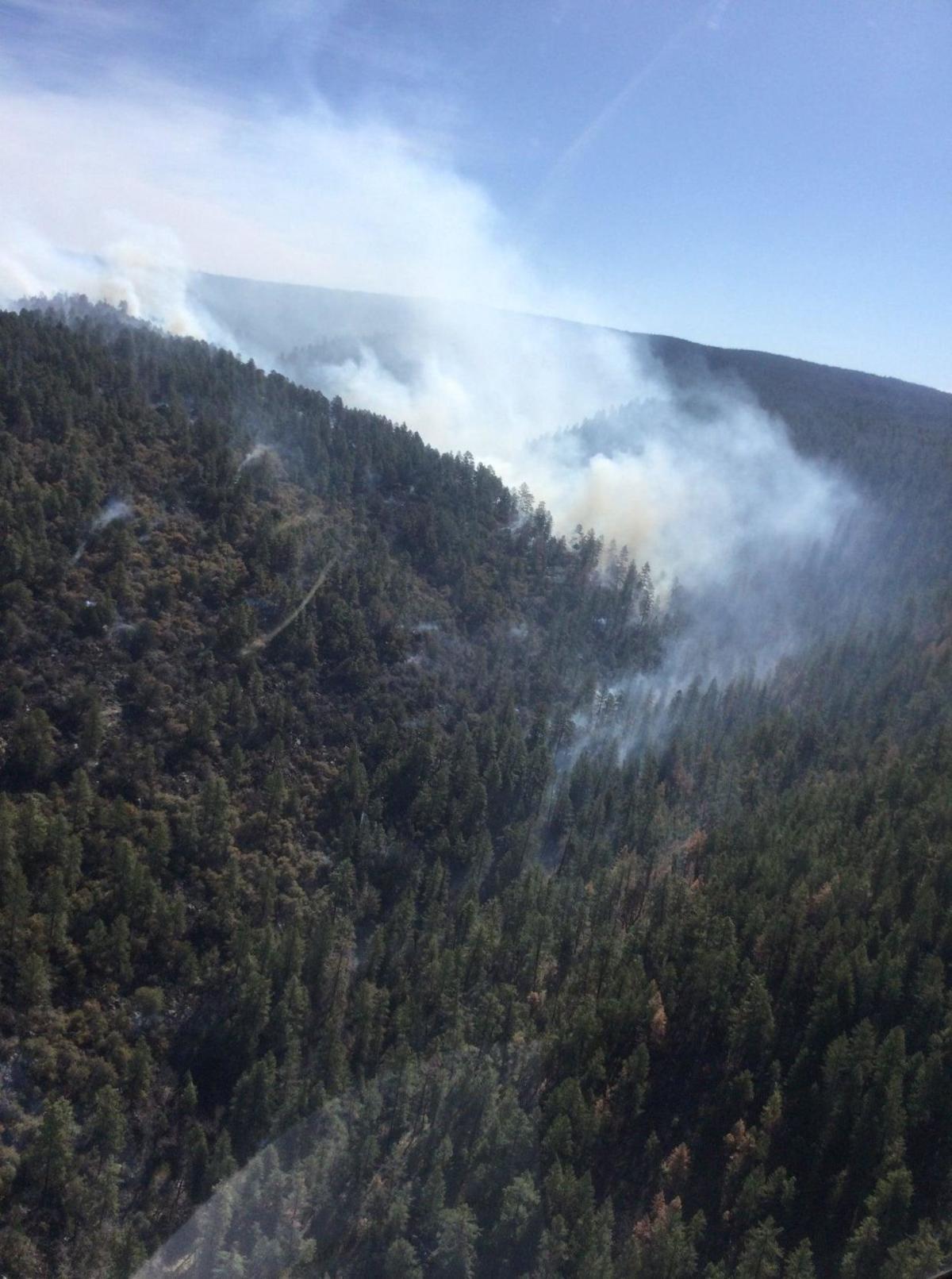 Bonito Creek Fire