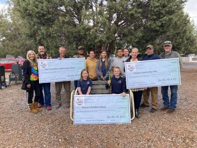 Zane Grey Youth 3 check donation April 2021