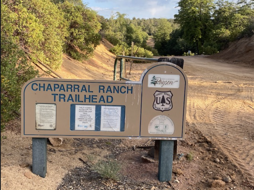ATVs allowed on Chaparral Ranch Trail