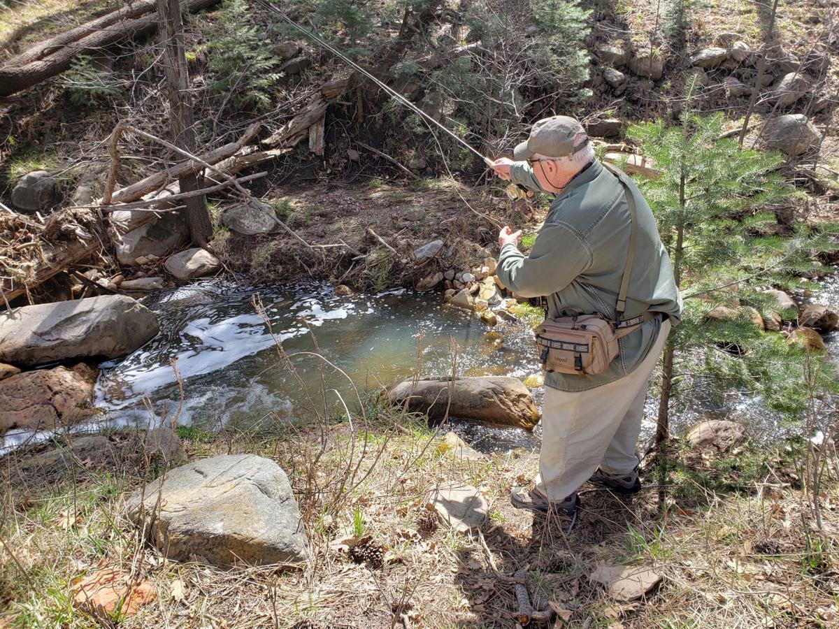 Joe Miller fishing