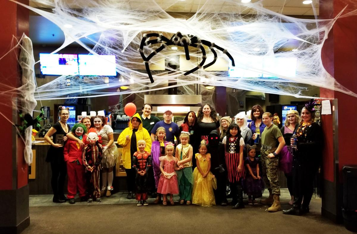 Sawmill Halloween Party Group