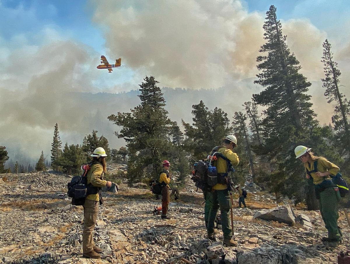 Caldor Fire in California