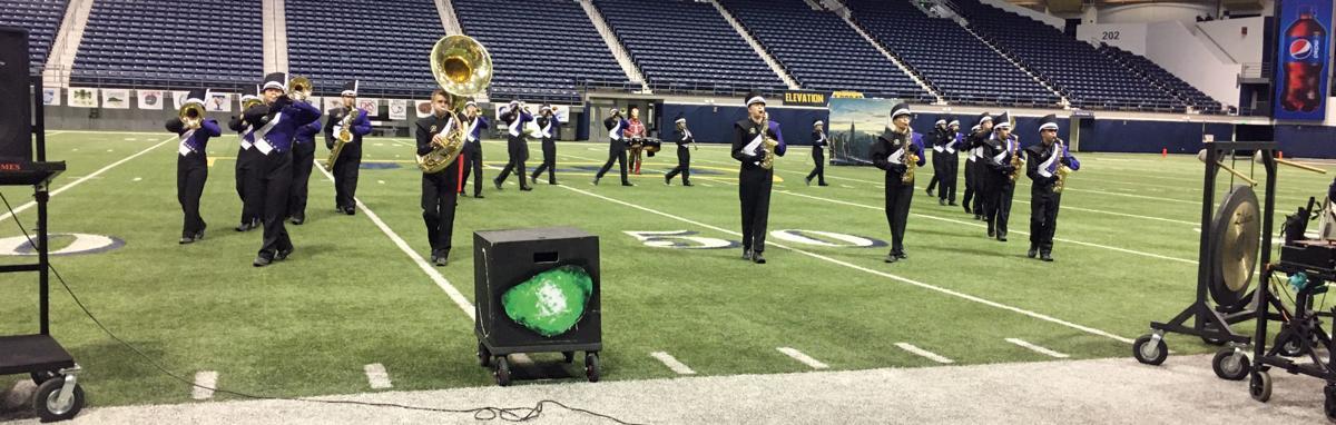 Payson Band competes at NAU band day 2019