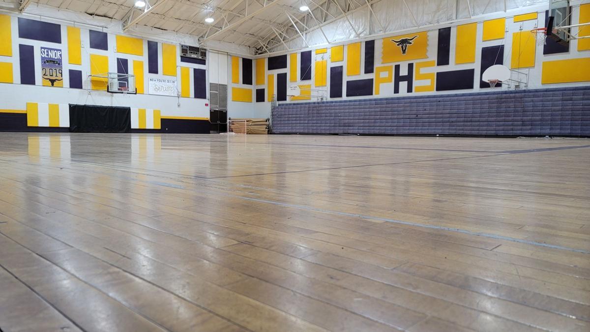 Old Gym Floor