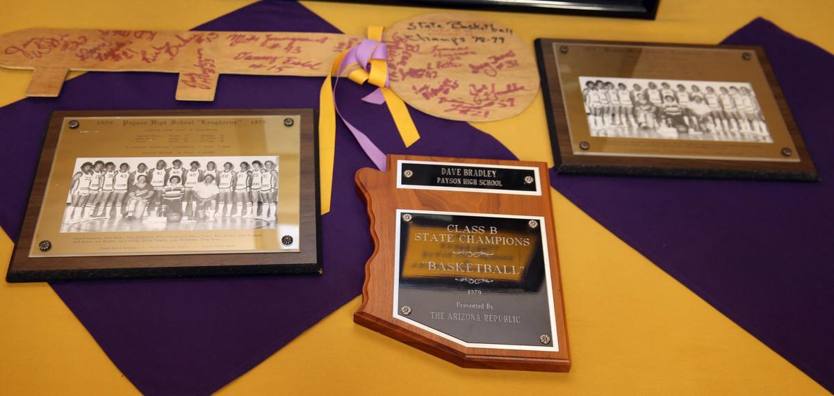 Hall of Fame 1979 Boys Baketball Photos and Plaque By DJ Craig