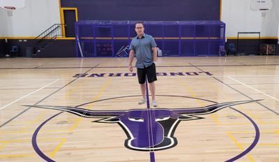 Ryan Scherling Old Gym New Floor