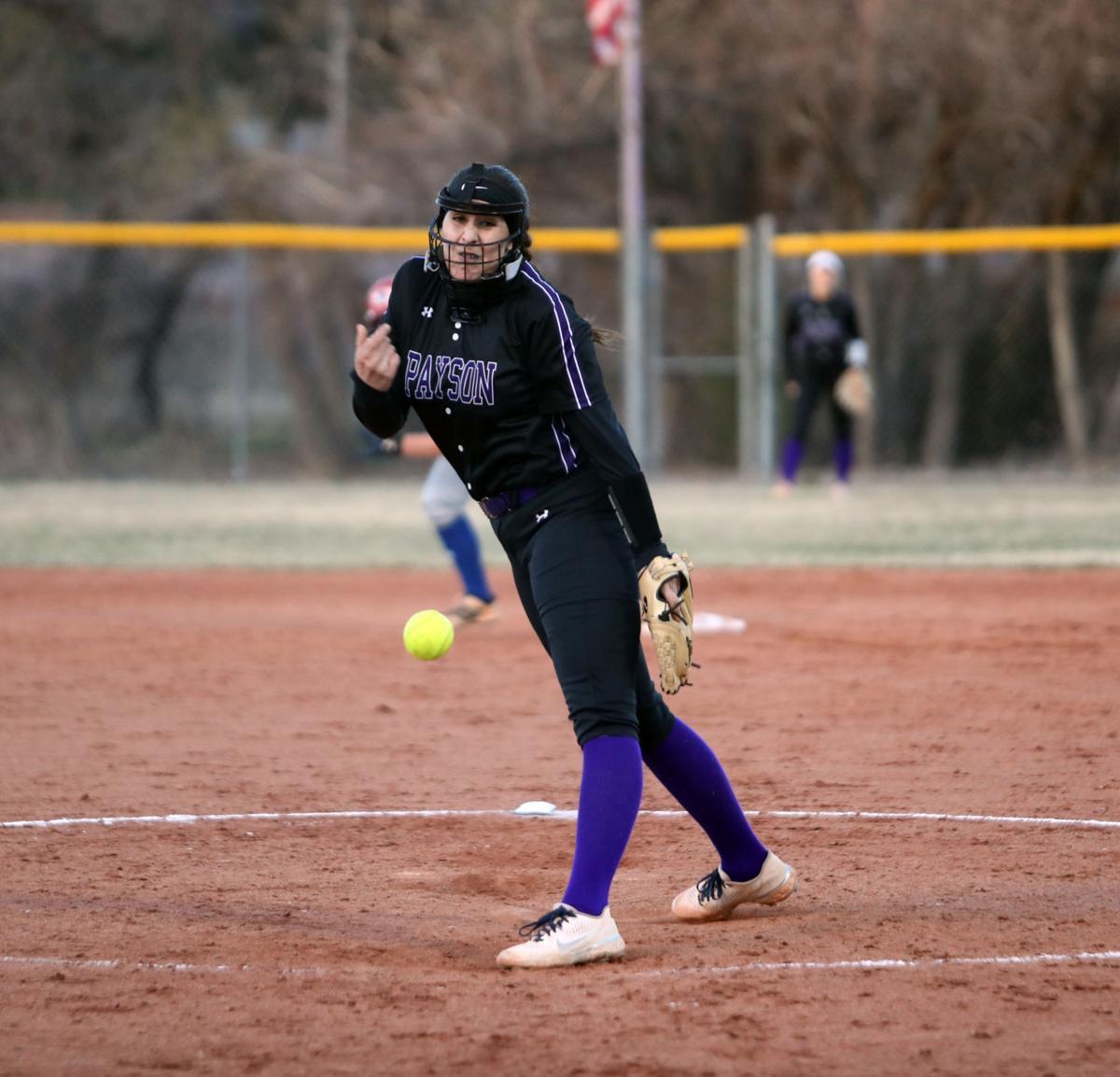 Raci Miranda Pitching From Backstop