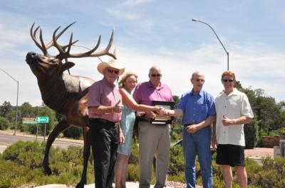 Elk makes an impressive entrance to Payson | Payson