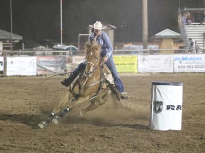 Rodeo-Barrels Sarah Kieckhefer